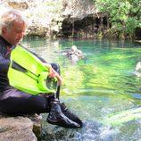 Jesús Calleja se sumerge en 'Desafío en el abismo'
