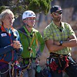 Kike Calleja y Rafa Lomana, entrenadores de los concursantes de 'Desafío en el abismo'