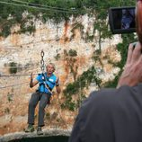 Jesús Calleja conduce el nuevo reality coach de Cuatro, 'Desafío en el abismo'