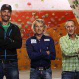Jesús Calleja, Rafa Lomana y Kike Calleja presentan 'Desafío en el abismo'