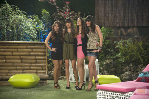 Argi, Jessica, Sonia y Raky