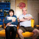 Raúl Arévalo y Janfri Topera en 'Con el culo al aire'