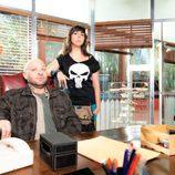 Chema y Eli, en la segunda temporada de 'Con el culo al aire'