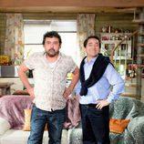 Tino y José Luis, personajes de 'Con el culo al aire'