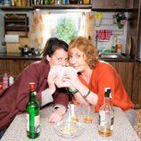 Lola y Charo, en la segunda temporada de 'Con el culo al aire'