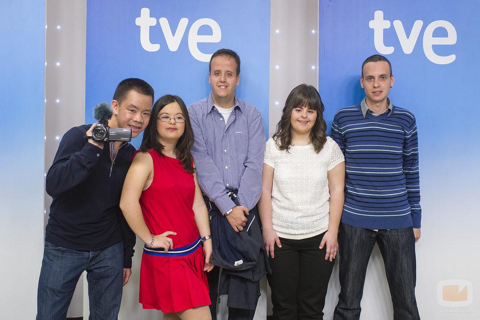 Participantes del nuevo programa de La 2, 'Con una sonrisa'