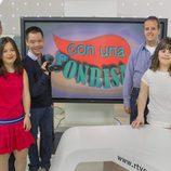 Cinco de los protagonistas del nuevo programa de La 2, 'Con una sonrisa'