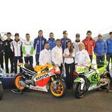 Equipo de reporteros de MotoGP 2013