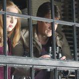 Alexis y Richard Castle juntos en el episodio 100 de 'Castle'