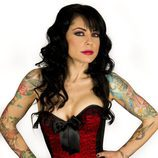 Rebeka, tatuadora en 'Madrid Ink'