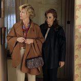 Mercedes y Yolanda, madre de Karina