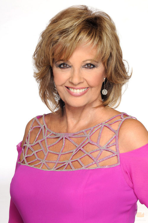 María Teresa Campos, presentadora de '¡Qué tiempo tan feliz!'
