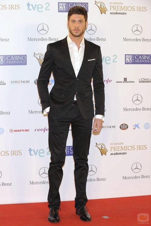José Lamuño en los Premios Iris 2013