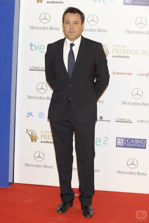 José Ribagorda en los Premios Iris 2013