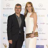 Marta Reyero y Miguel Ángel Oliver en los Premios Iris 2013