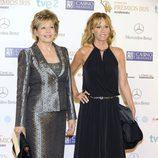 Laura Valenzuela y Lara Dibildos en los Premios Iris 2013
