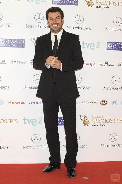 Arturo Valls en los Premios Iris 2013
