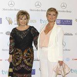 María Teresa Campos y Terelu Campos en los Premios Iris 2013