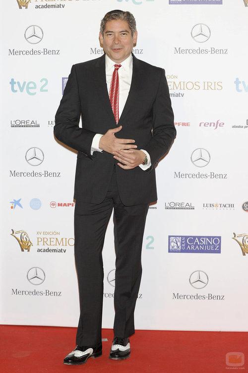 Boris Izaguirre en la alfombra roja de los Premios Iris 2013