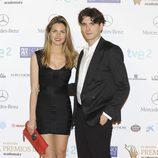 Yon González y Amaia Salamanca en los Premios Iris 2013