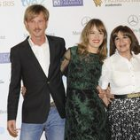 Eloy Azorín, Marta Larralde, Concha Velasco y Llorenç González en los Premios Iris 2013