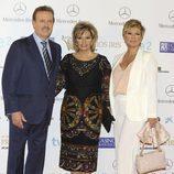 Manuel Campo Vidal, María Teresa Campos y Terelu Campos en los Iris 2013