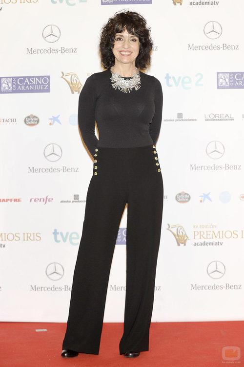Adriana Ozores en los Premios Iris 2013
