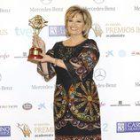 María Teresa Campos, Premio Iris 2013 Toda Una Vida, de la Academia TV