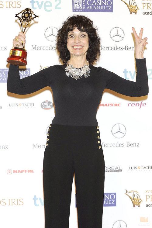 Adriana Ozores, Premio Iris 2013 a la Mejor Actriz