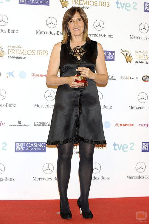 Ana Blanco, Premio Iris 2013 al Mejor Presentador de Informativos