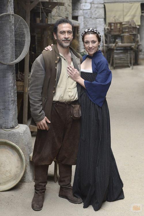 Cipri y Catalina en la quinta temporada de 'Águila Roja'