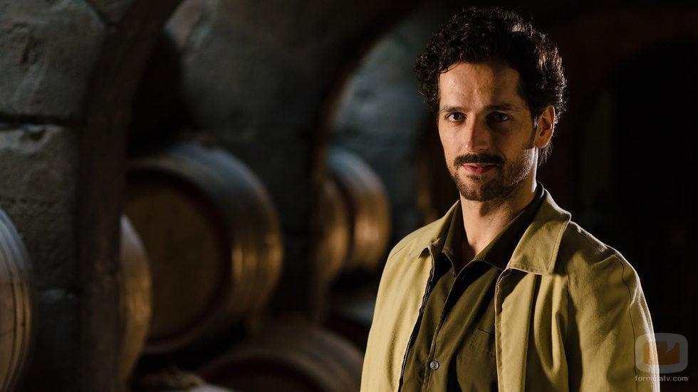 Pablo Castañón es Adolfo Reverte en 'Gran Reserva. El origen'