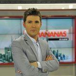 Jesús Cintora en su debut en 'Las mañanas de Cuatro'