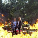 Un incendio en el nuevo episodio de 'El don de Alba'