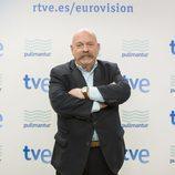 José María Íñigo, comentarista del Festival de Eurovisión 2013