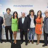 Equipo español del Festival de Eurovisión 2013