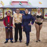 La familia de Bela, artistas del circo, participa en 'Me cambio de familia'