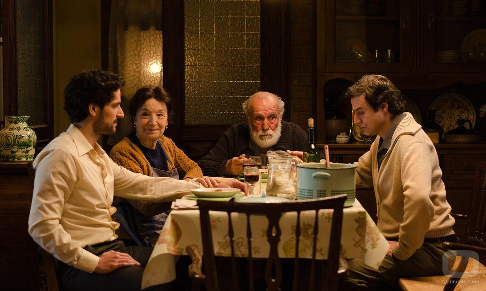 La familia Reverte en 'Gran Reserva. El origen'