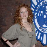 Cristina Castaño posando en la serie 'El Comisario'