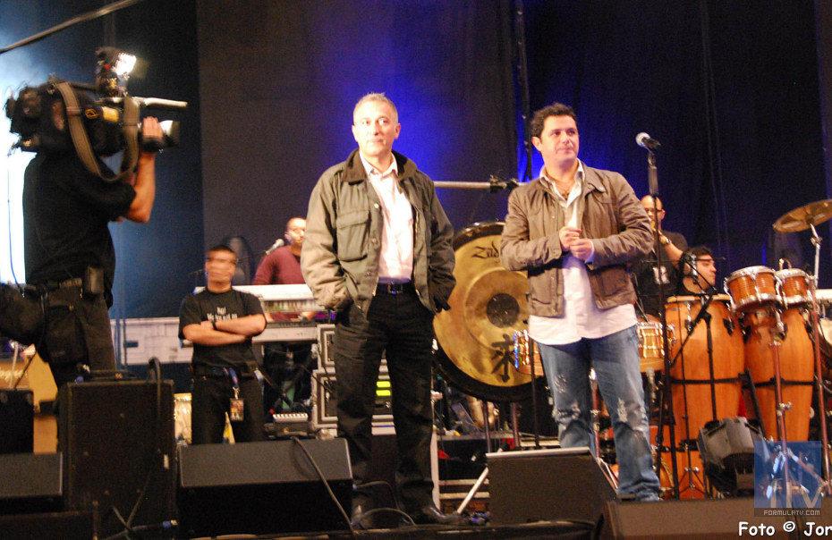 Javier Sardá y Alejandro Sanz