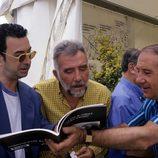 Alfredo Landa, Fernando Guillén y José Luis garci