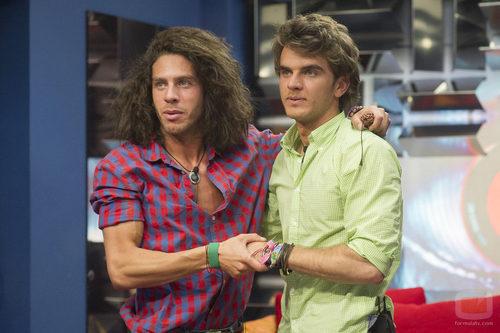 Kris y Edoardo se reencuentran en 'Gran Hermano catorce'