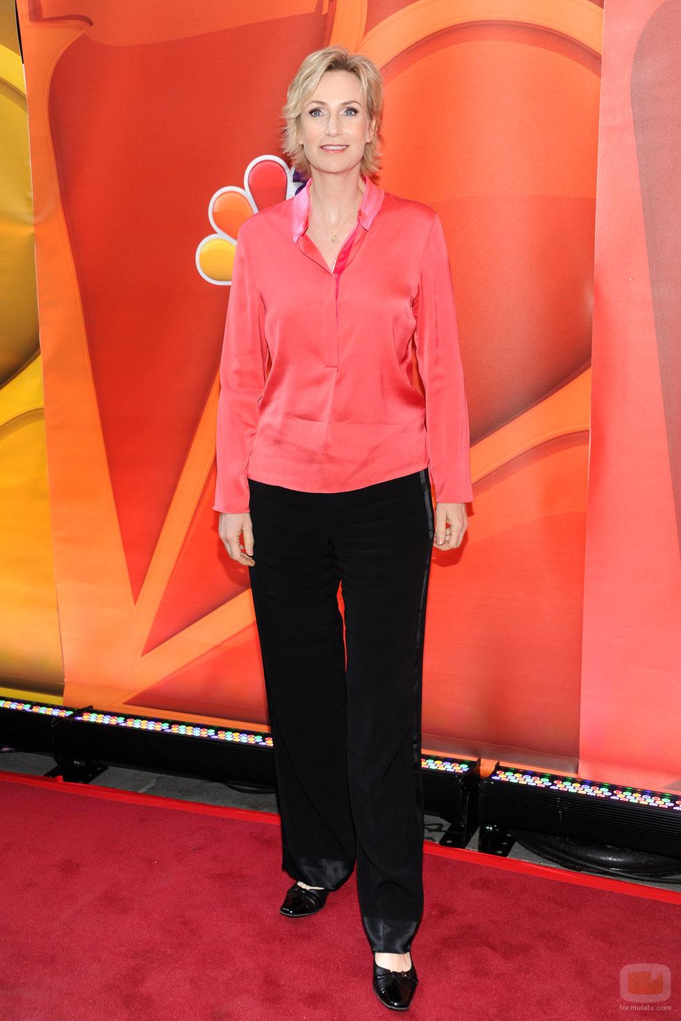 Jane Lynch en los Upfronts 2013 de NBC