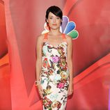 Megan Boone ('The Blacklist') en los Upfronts 2013 de NBC
