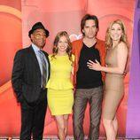 El reparto de 'Revolution' en los Upfronts 2013 de NBC