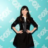 Zooey Deschanel ('New Girl') en los Upfronts 2013 de Fox