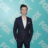 Chris Colfer ('Glee') en los Upfronts 2013 de Fox