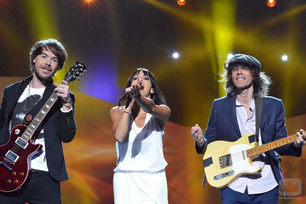 El Sueño de Morfeo, en el Malmö Arena ensayando su canción de Eurovisión