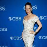 Lucy Liu ('Elementary') en los Upfronts 2013 de CBS