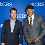 Chris O'Donnell y LL Cool J en los Upfronts 2013 de CBS